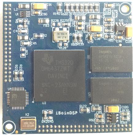 6437DSP板实物图